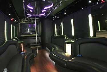 Party Bus 25 Passengers Interior