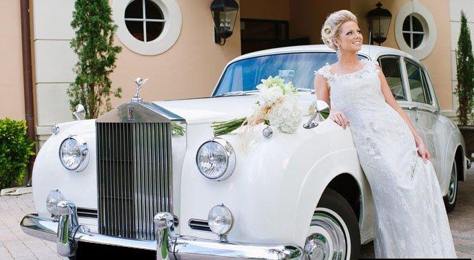 Rolls Royce Silver Cloud White