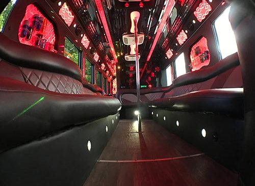 party bus for prom
